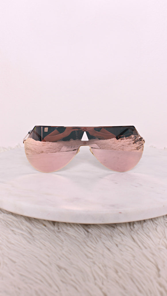 Seed Rose Gold Sunglasses