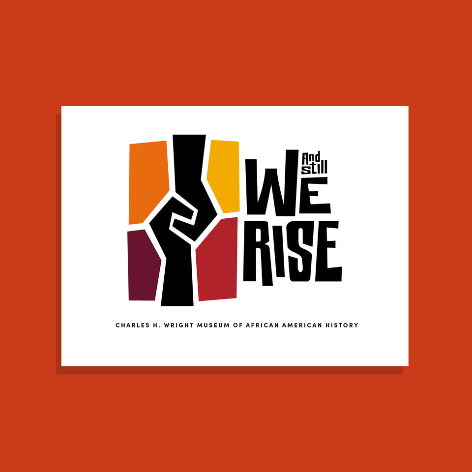 And Still We Rise Logo Poster