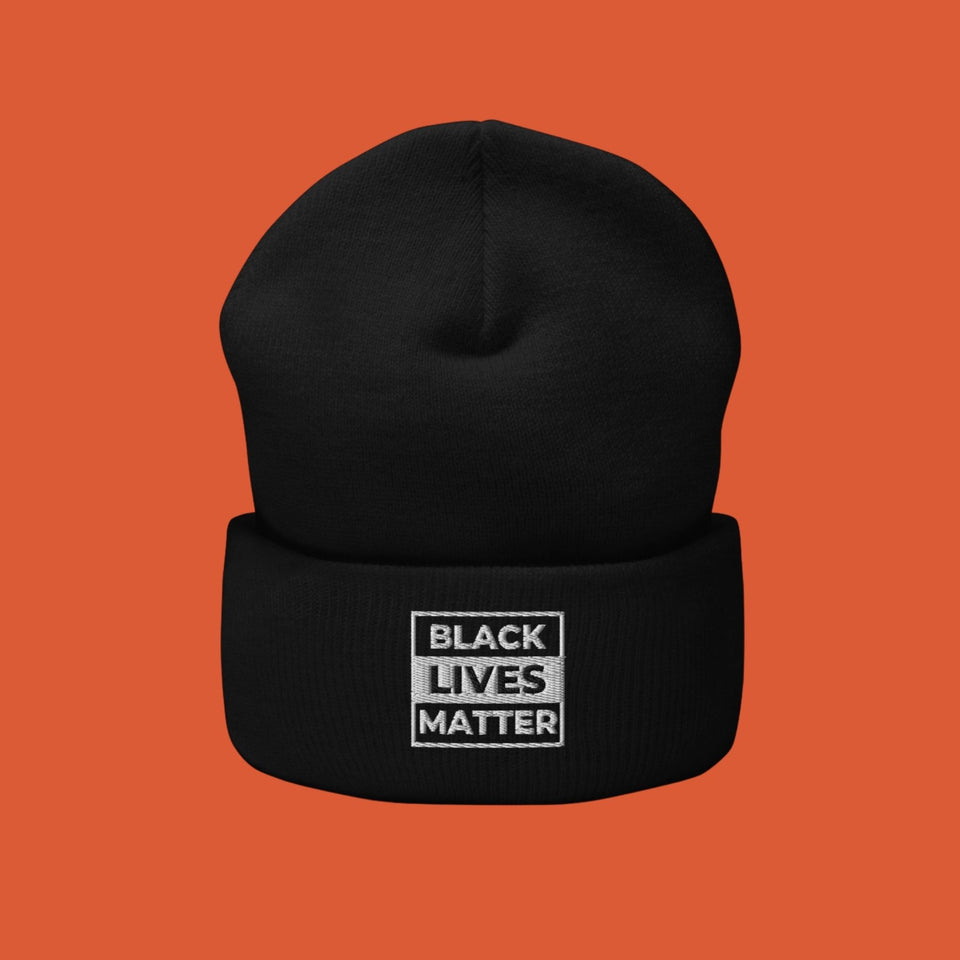 Black Lives Matter Cuffed Beanie