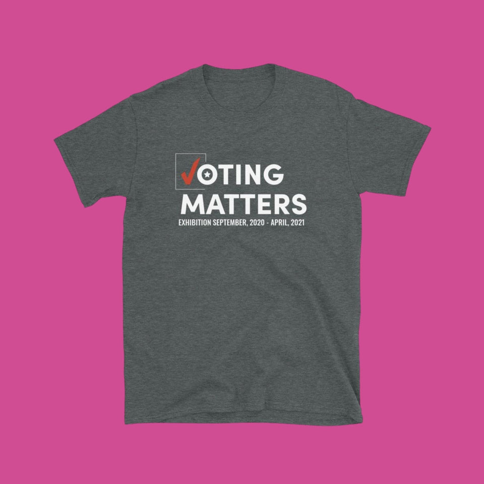 Voting Matters Logo Short-Sleeve Unisex T-Shirt