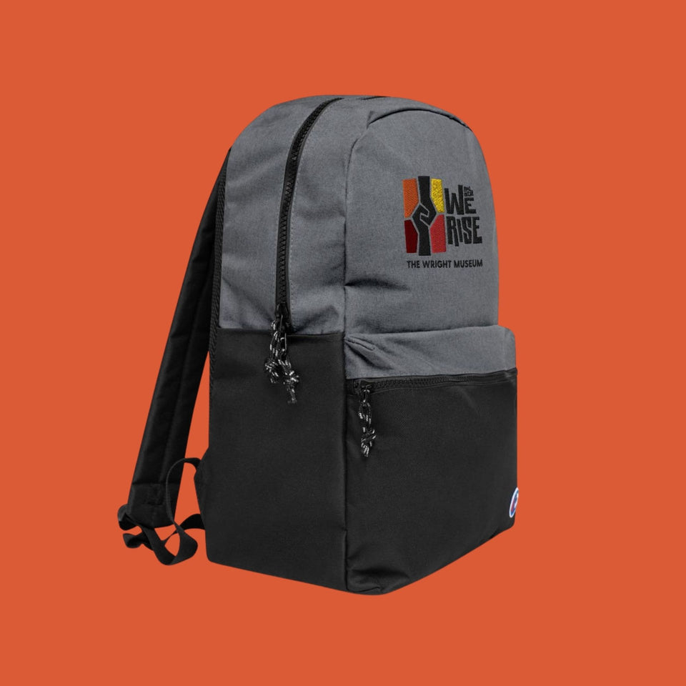 And Still We Rise Embroidered Champion Backpack