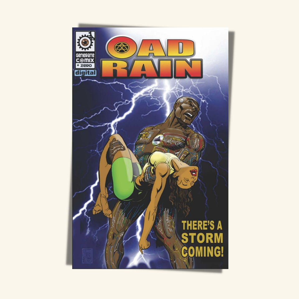 OAD Rain Comic Book