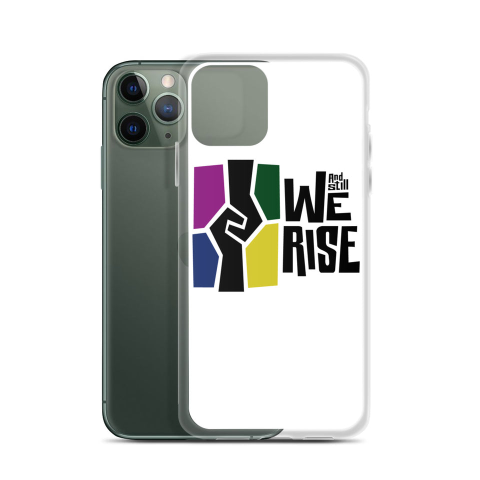And Still We Rise Logo iPhone Case