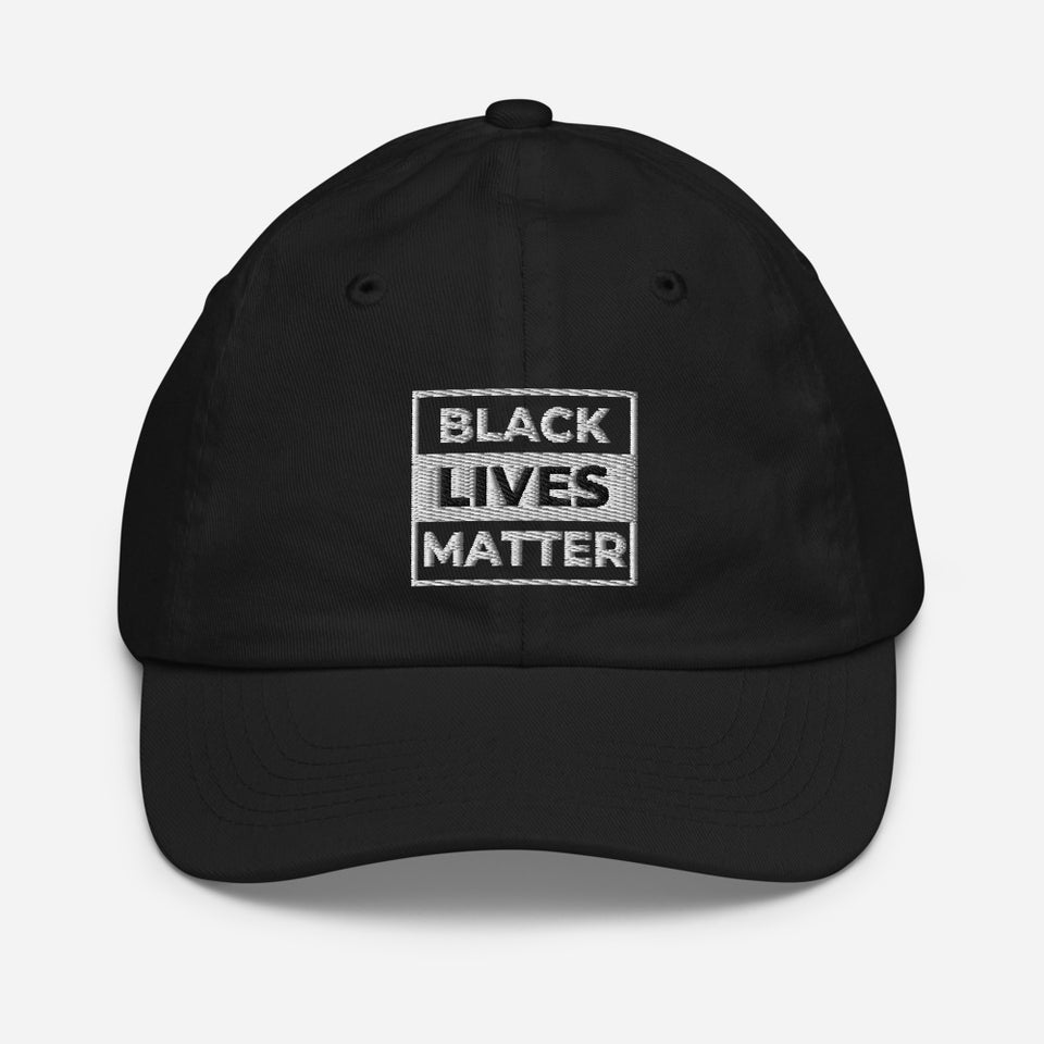 Black Lives Matter Youth Baseball Hat