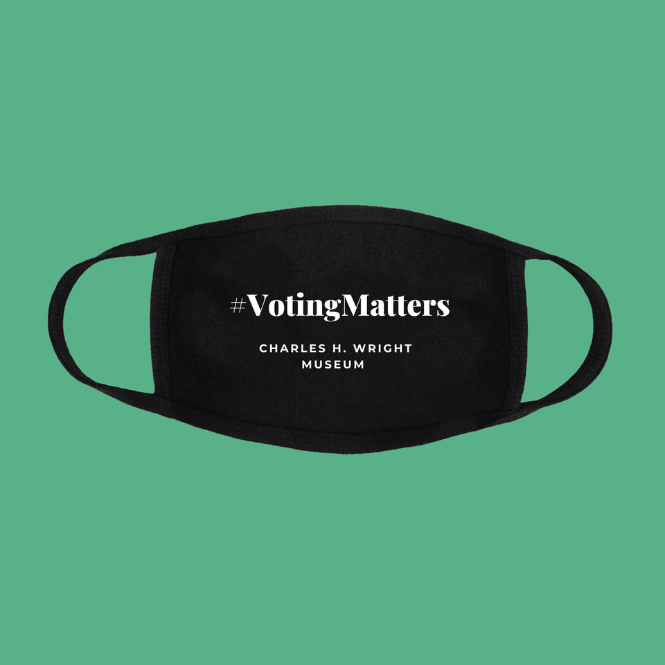 Voting Matters Exhibition Face Mask