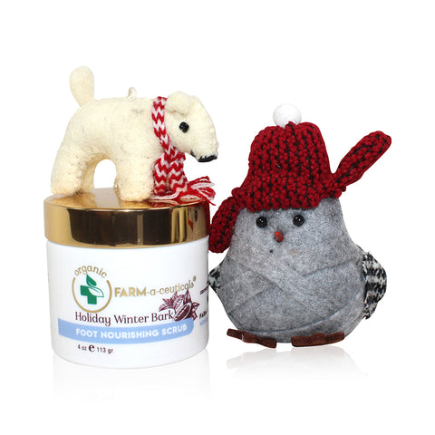Holiday Winter Bark - Body & Foot Scrub - NEW