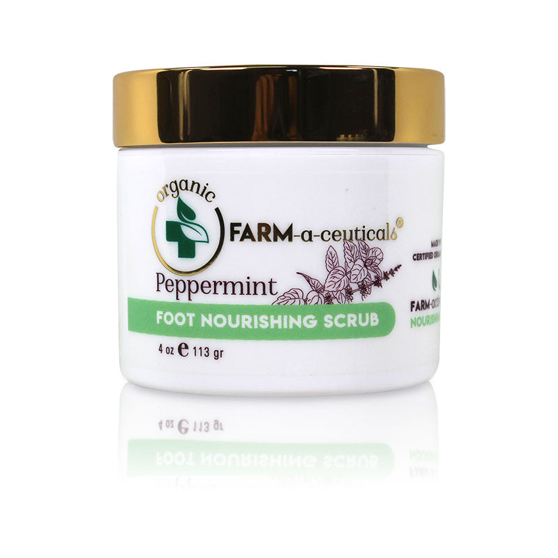 Peppermint - Foot Nourishing Scrub - NEW