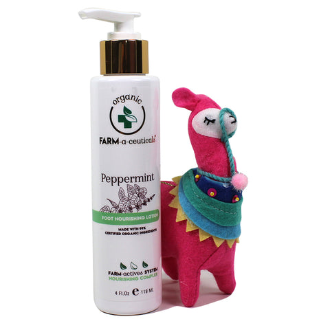 Peppermint - Foot Nourishing Lotion - NEW