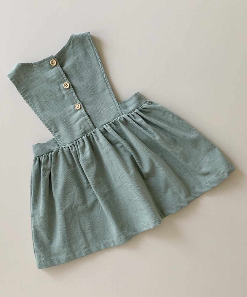 Bow Collective | Sage Freida Pinafore Dress