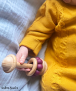 Arden's Garden | Wooden & Silicone Eco Teether Rattle