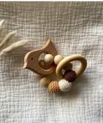 Arden's Garden | Wooden & Crochet Bird Teether