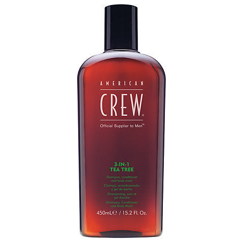 AMERICAN CREW CLASSIC 3 IN 1 TEA TREE 450ML