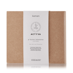 KEMON ACTYVA P FACTOR INTENSIVE LOTION FOR MEN 6X12ML