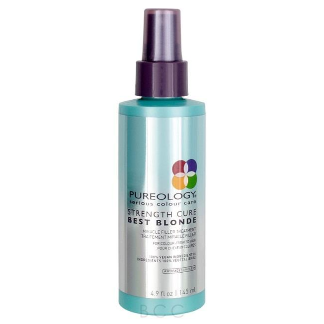 PUREOLOGY STRENGTH CURE BEST BLONDE MIRACLE FILLER TREATMENT 145ML