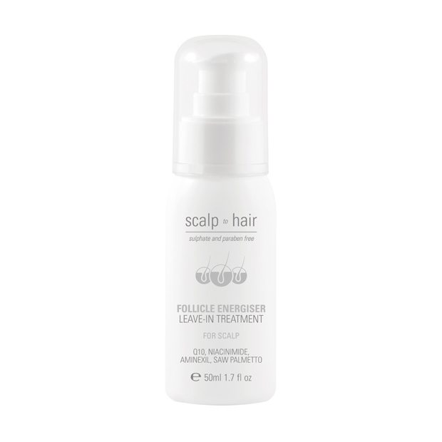 NAK HAIR SCALP TO HAIR FOLLICLE ENERGISER LEAVE-IN TREATMENT 50ml