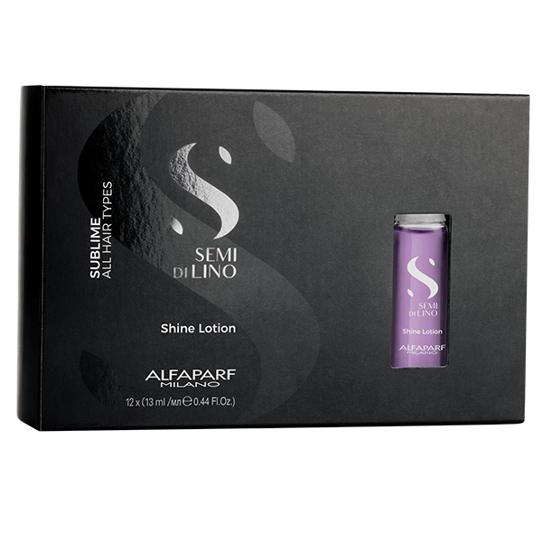 ALFAPARF SEMI DI LINO SUBLIME SHINE LOTION 12x13ML