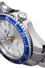 Shield Abyss Bracelet Watch - Silver/Blue - SLDSH111-5