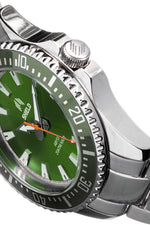 Shield Abyss Bracelet Watch - Green/Grey- SLDSH111-3