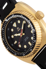 Shield Dreyer Men's Diver Strap Watch - Gold/Black