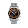 Shield Exley Bracelet Men's Chronograph Diver Watch - Black/Orange
