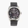 Shield Cavern Strap Watch - Black