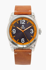Shield Cavern Strap Watch - Tan/Black