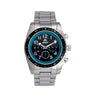 Shield Exley Bracelet Men's Chronograph Diver Watch - Black/Blue
