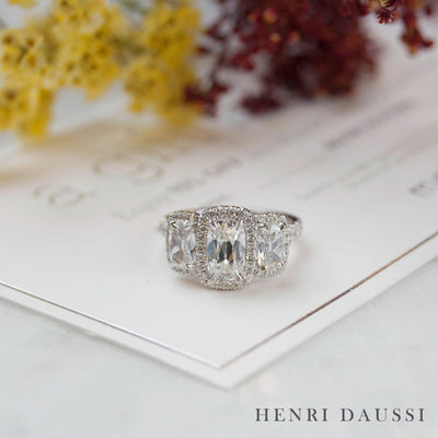 Spotlight on Three Stone Engagement Rings
