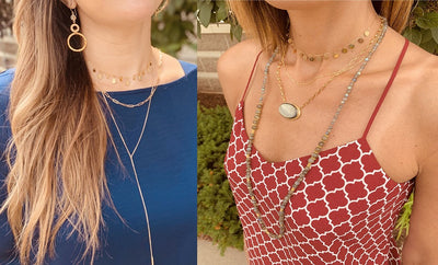 How to layer necklaces: 3 Easy Tips!