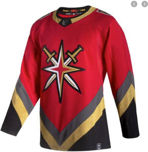 Vegas Golden Knights Retro Reverse Authentic Jersey