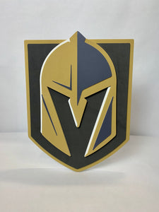 Knights 3D Foam Sign