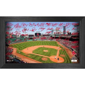 Boston Red Sox 2021 Signature Field Photo Frame