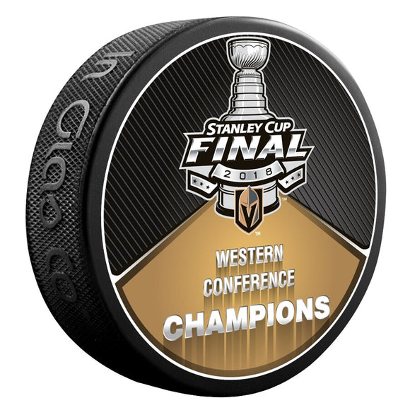 Knights Western Conference Champions Puck