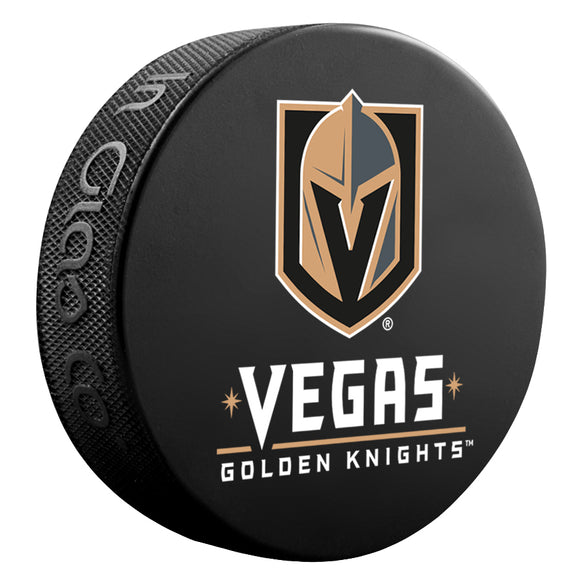 Knights Wordmark Puck