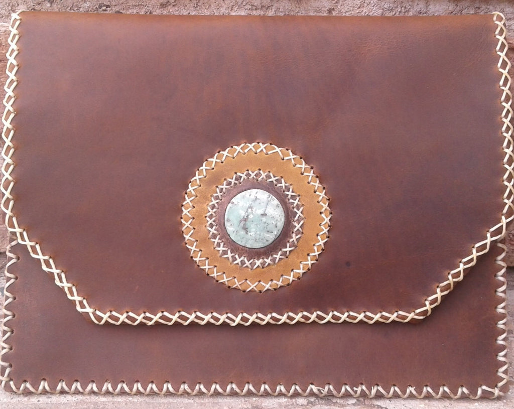 Clutch Envelope Purse with stone