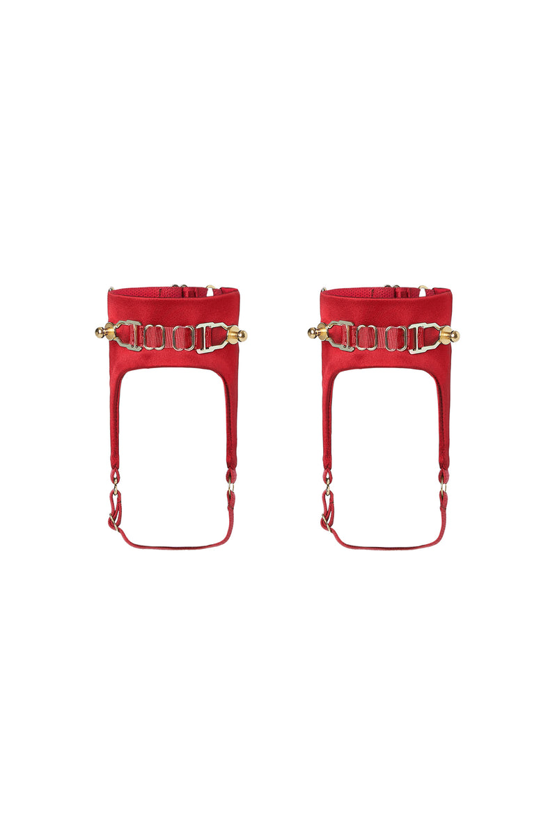 Secure Anklets Red