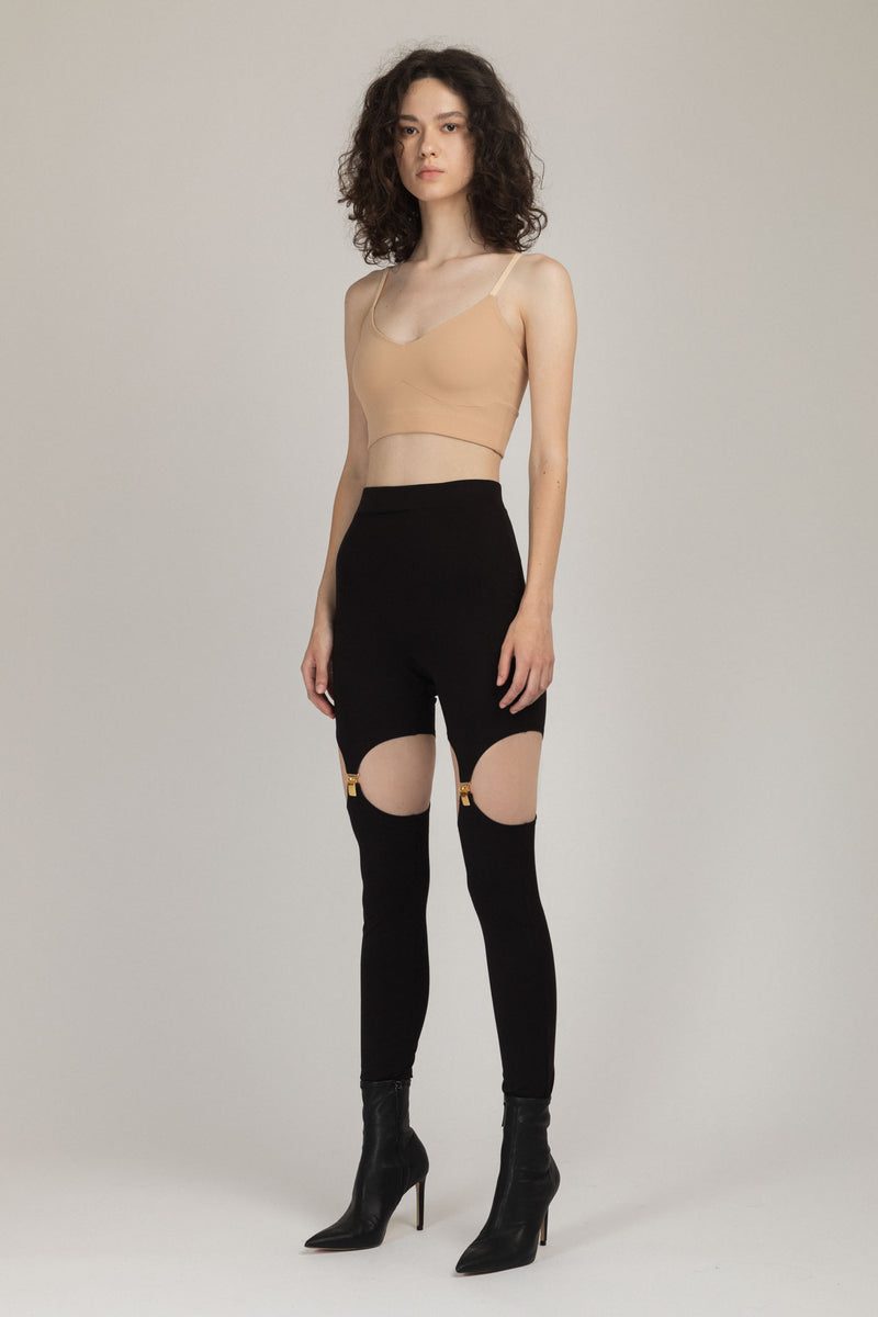 Suspender Leggings
