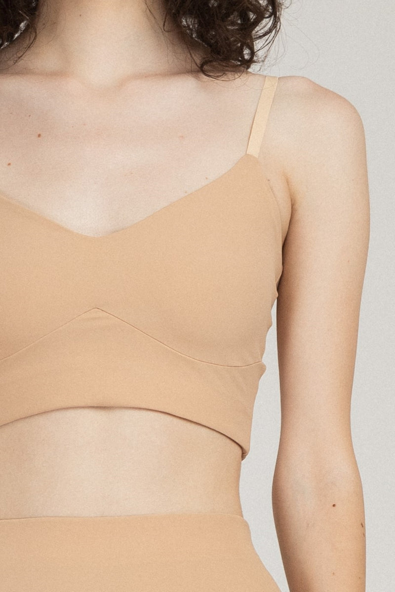 Base Bra Top Nude