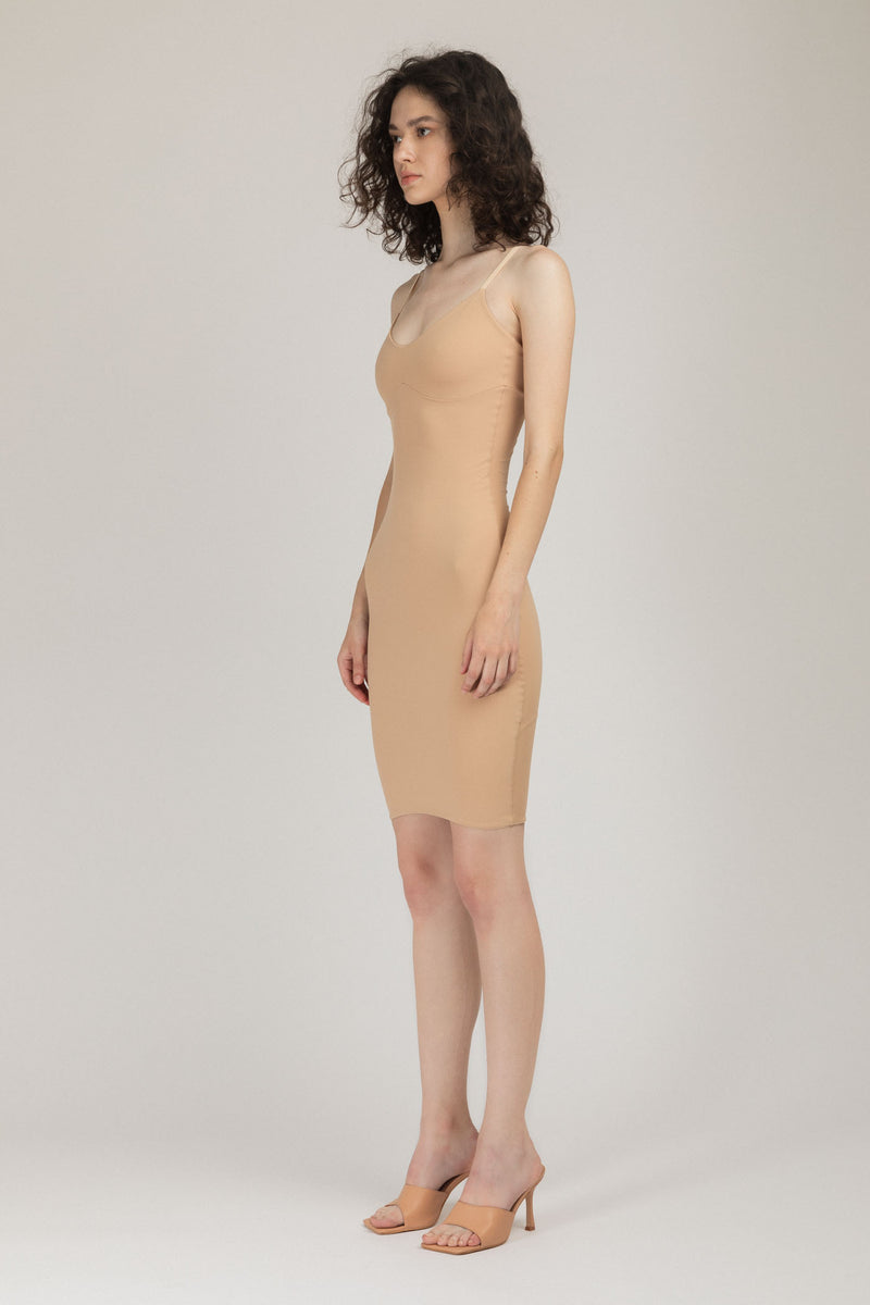 Base Dress Nude