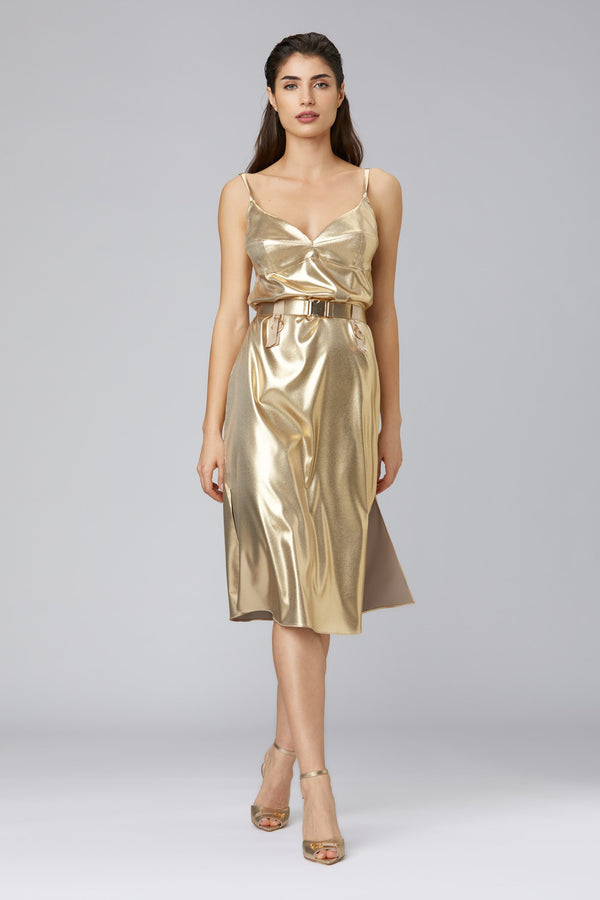 Escapade Dress Gold