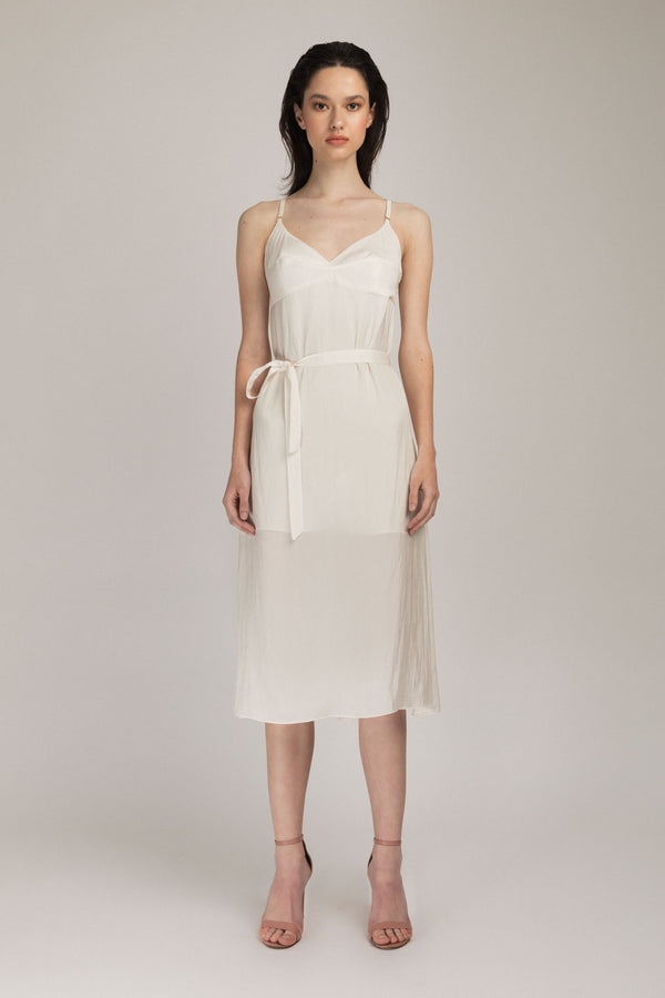 Escapade Dress White
