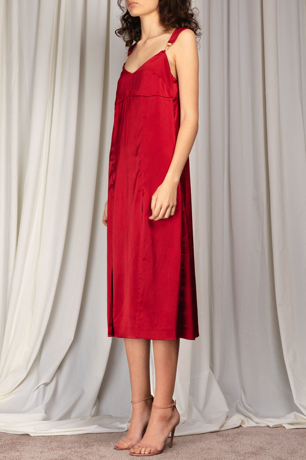 Hollow Dress Red