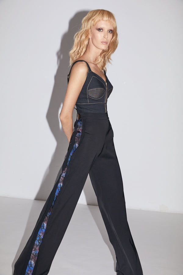 Bliss Trousers Dark Print