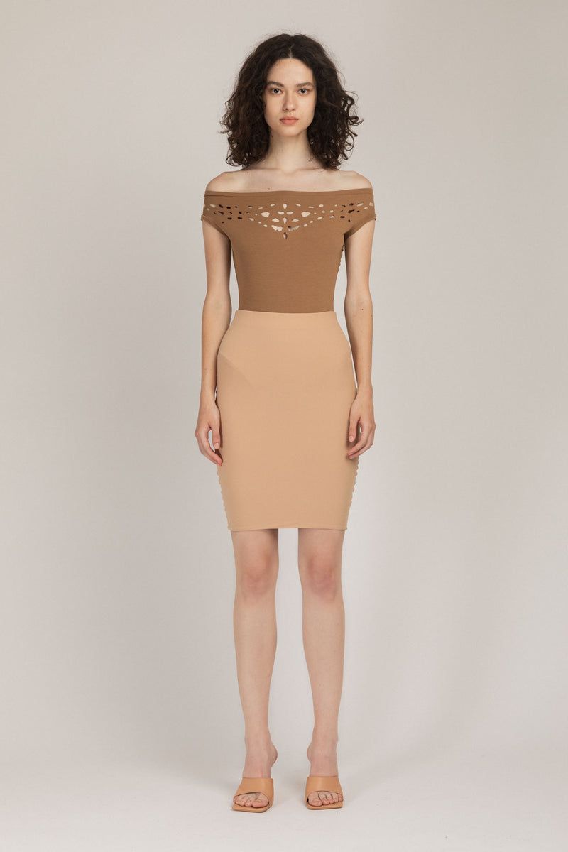Base Skirt Nude