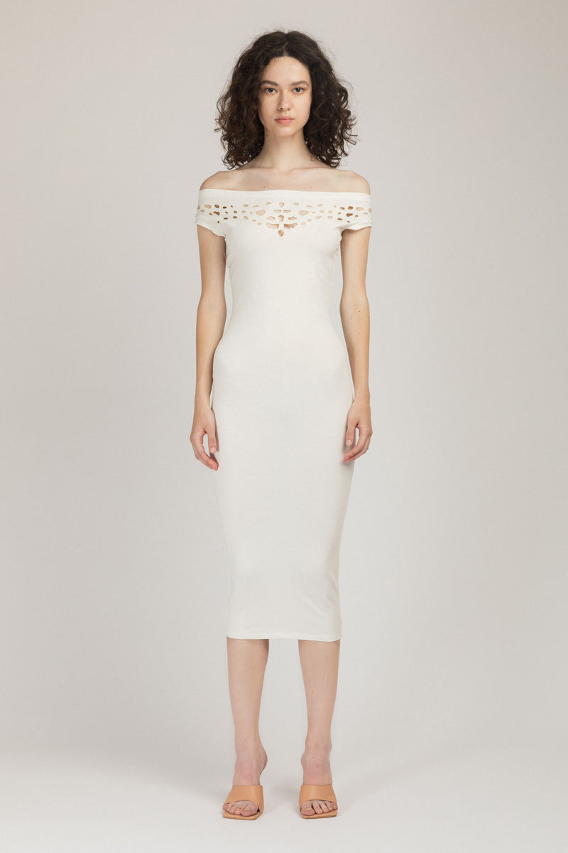 Pose Dress White