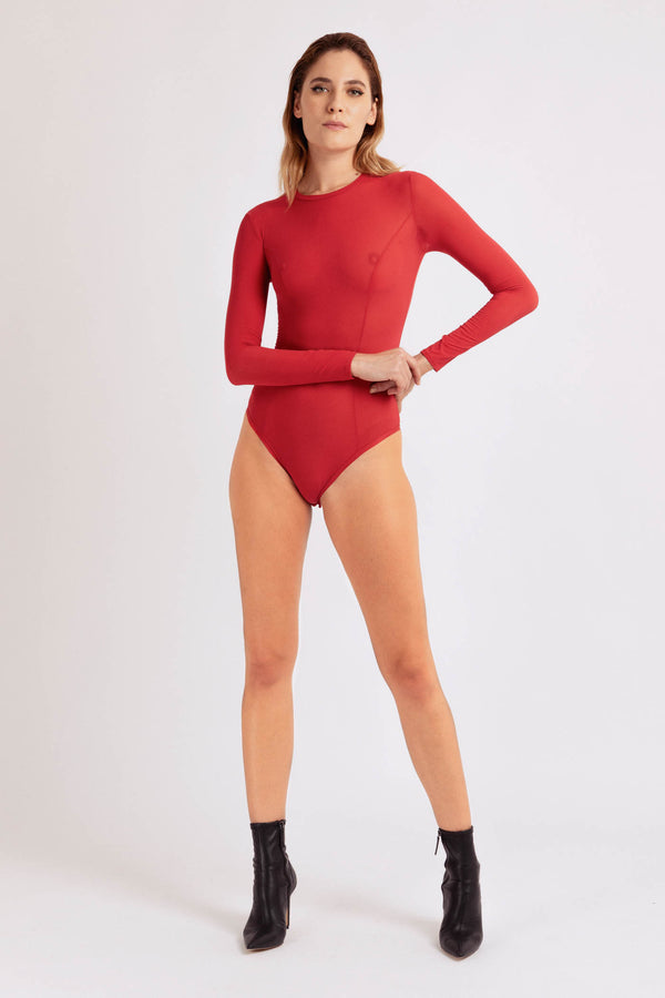 Primal Bodysuit Red