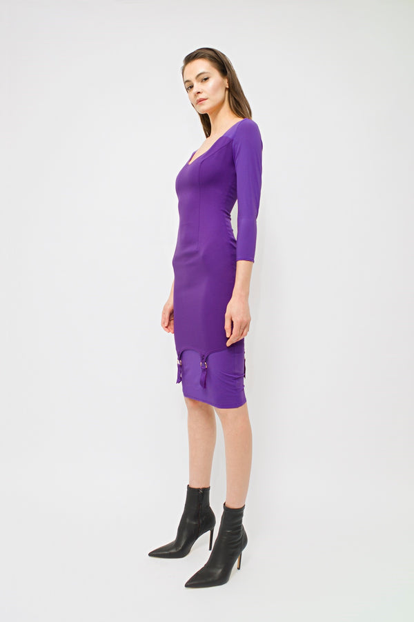 Profane Dress Violet