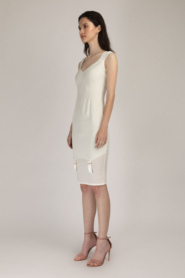 Profane Dress White