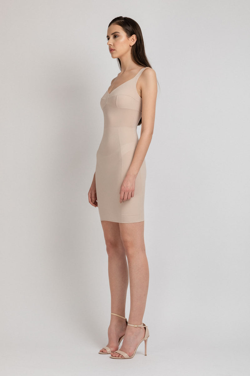Grid Underdress Nude