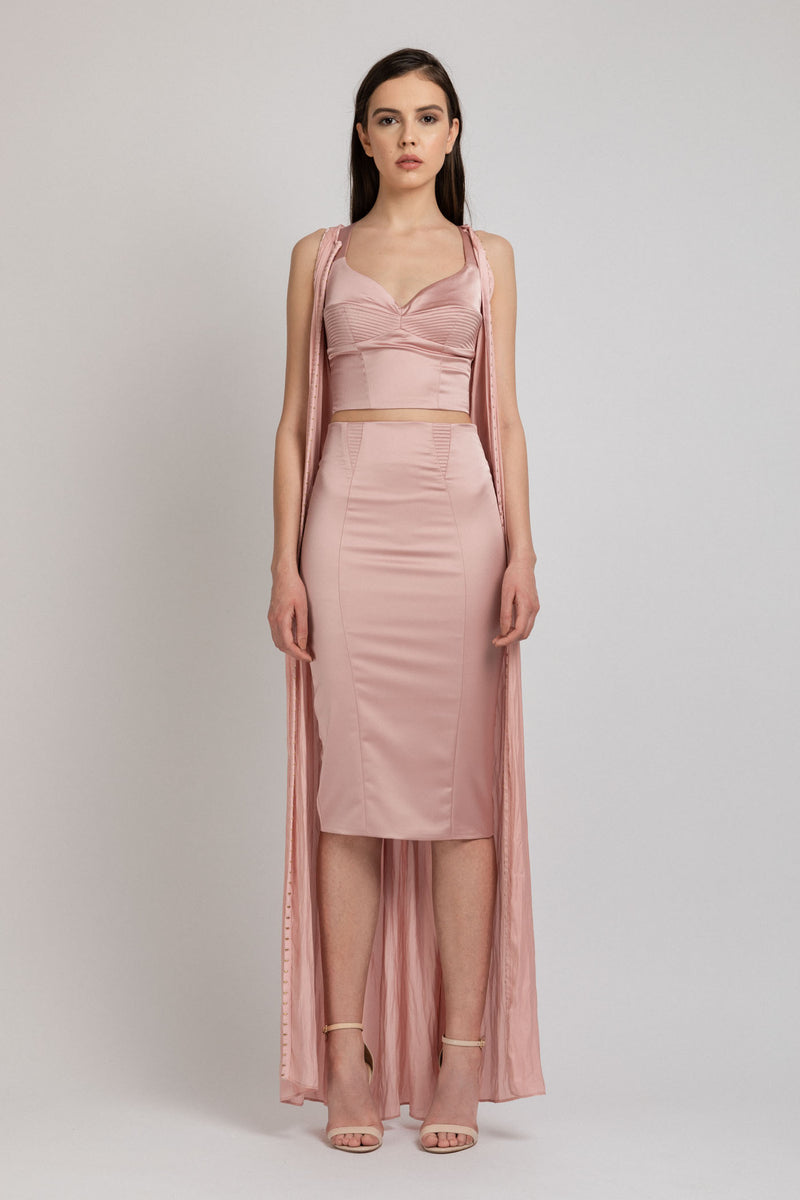 Diversion Dress Blush